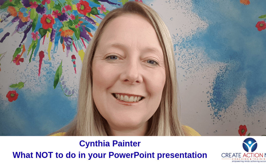 What not to do in your PowerPoint presentation