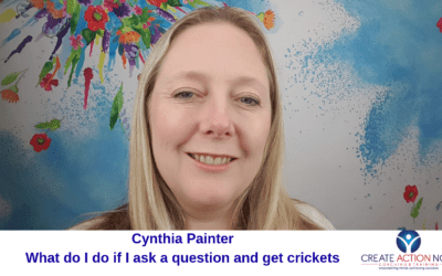 6 tips on what to do if you ask a question and get crickets