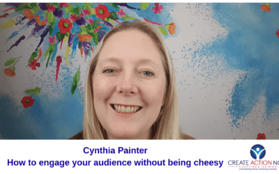 How to engage your audience without being cheesy