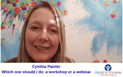 Which should I do: a workshop or a webinar?