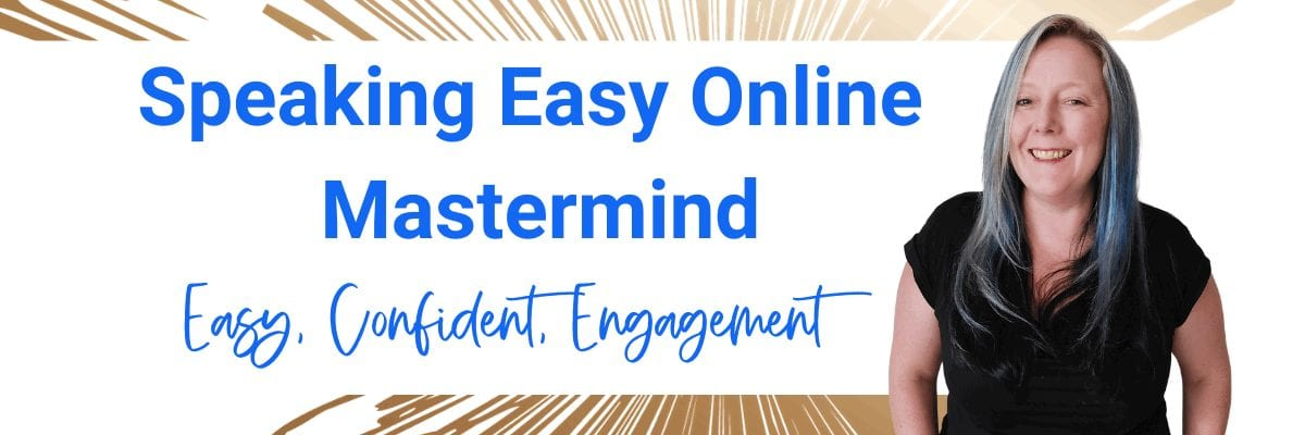 Speaking Easy Online Mastermind with Cynthia Painter